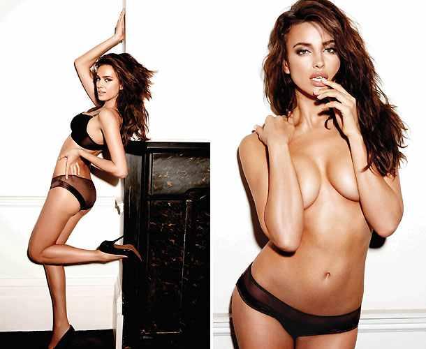 Model Irina Shayk Pamer Bokong Seksi di Iklan Intissimi