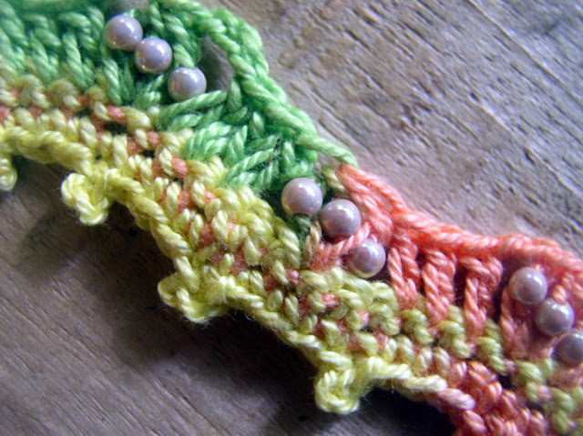 Beads and crochet