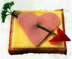 на завтрак на День св.Валентина