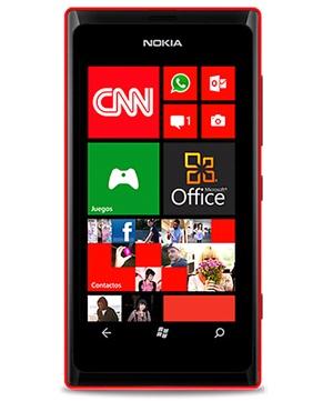 Nokia Lumia 505 Rojo Tienda Claro Perú