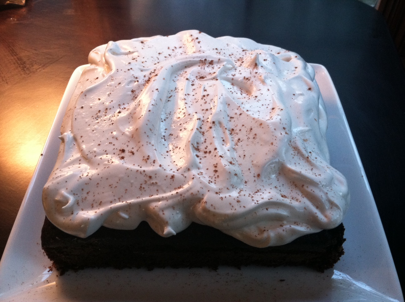 ... Gourmet Project: Devils Food Cake with Marshmallow Frosting (Page 743
