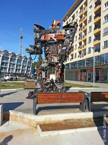 Робот «Rammtron»