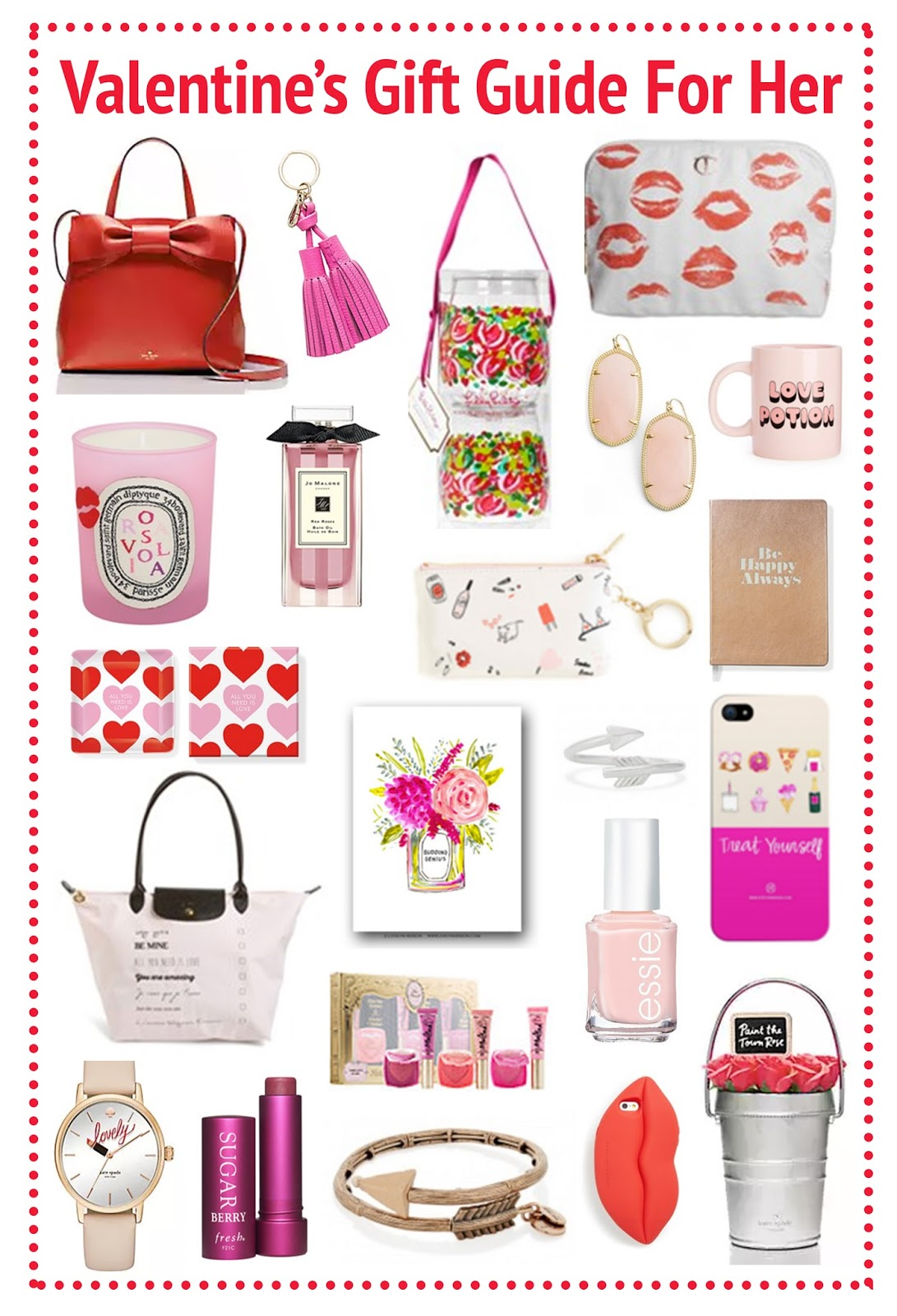 Sew cute valentines day gift guide for her for Sweet valentines day gifts for her