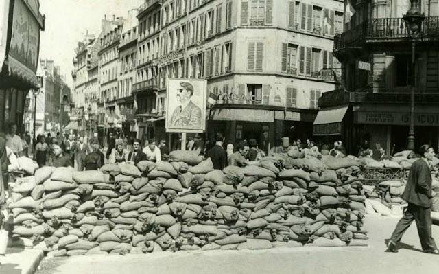 Liberation de paris - Bureau de change rue montmartre ...
