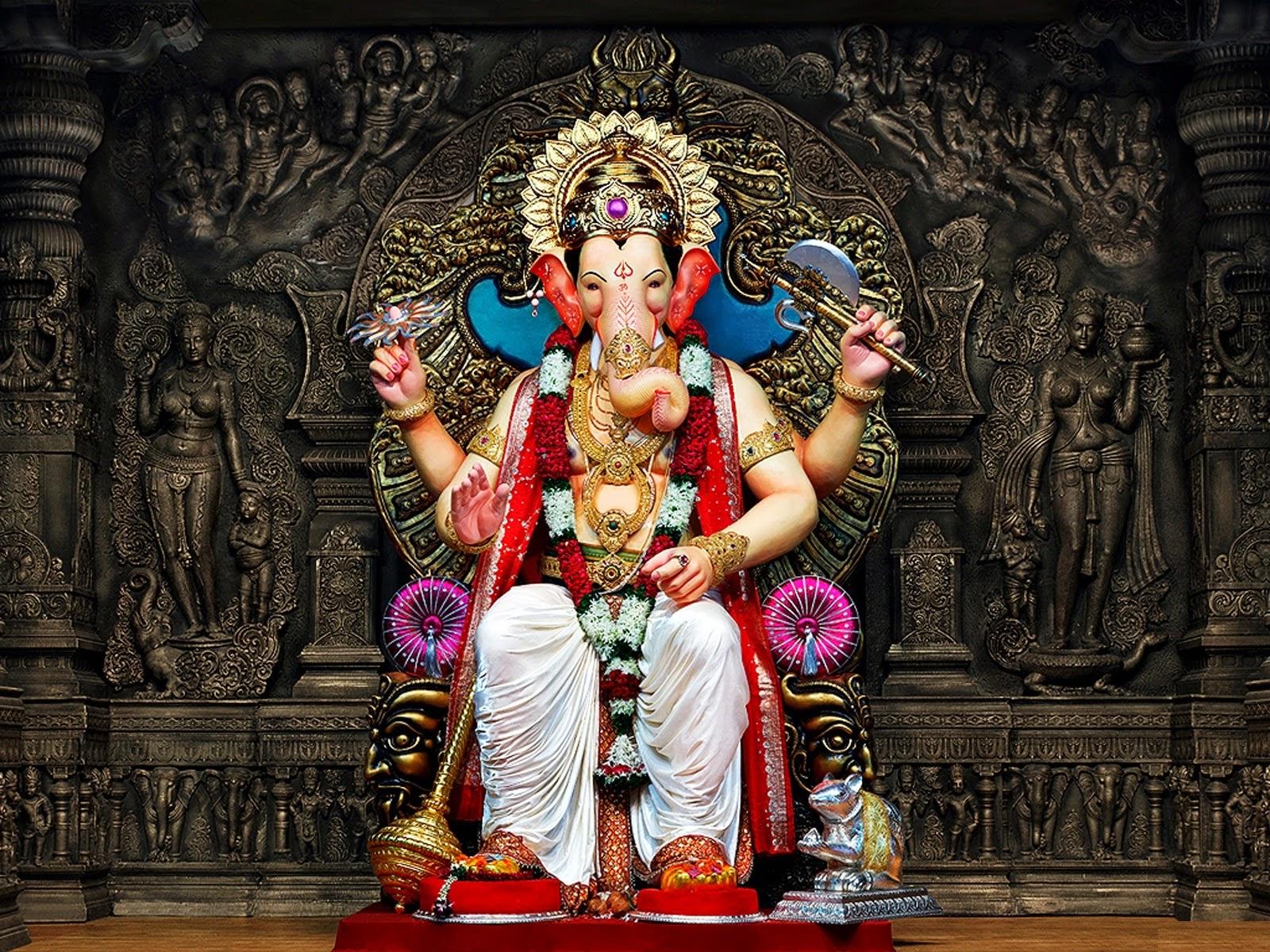 Ganpati images and wallpapers of ganesh murti for Decoration ka photo