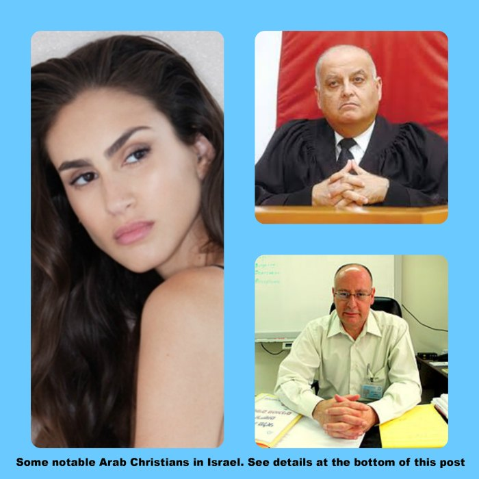 Some notable Arab Christians in Israel examples of individualism