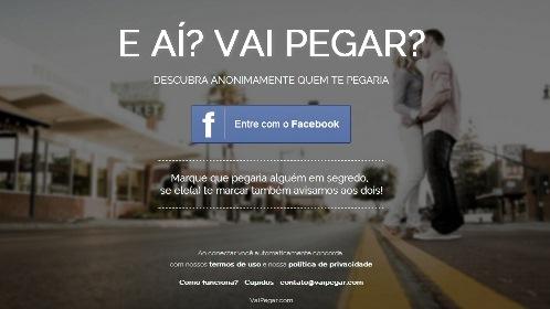 """Site """"Vai Pegar"""""""