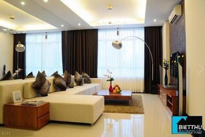 Phòng khách Căn Hộ Giai Việt Chánh Hưng