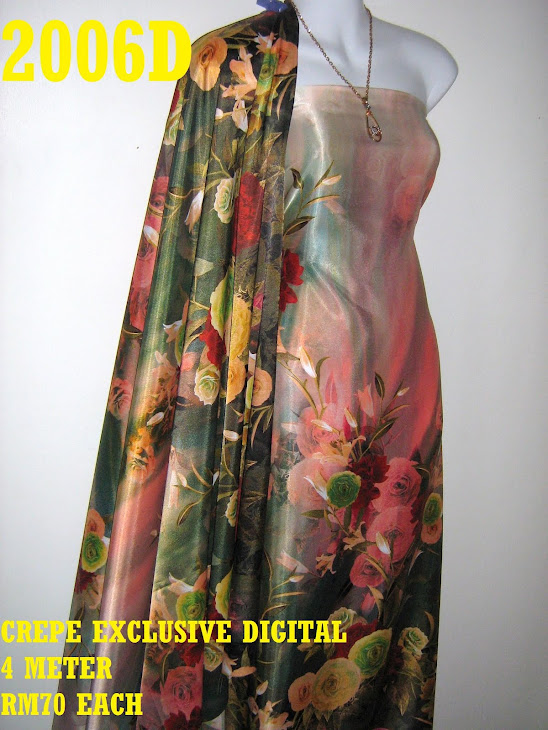 CP 2006D: CREPE EXCLUSIVE DIGITAL PRINTED, 4 METER