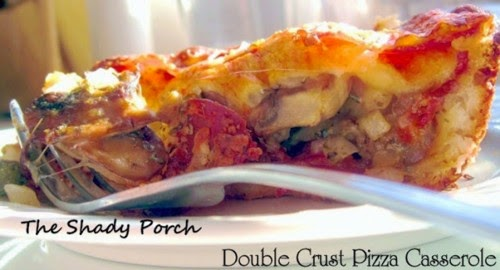 Double Crust Pizza Casserole