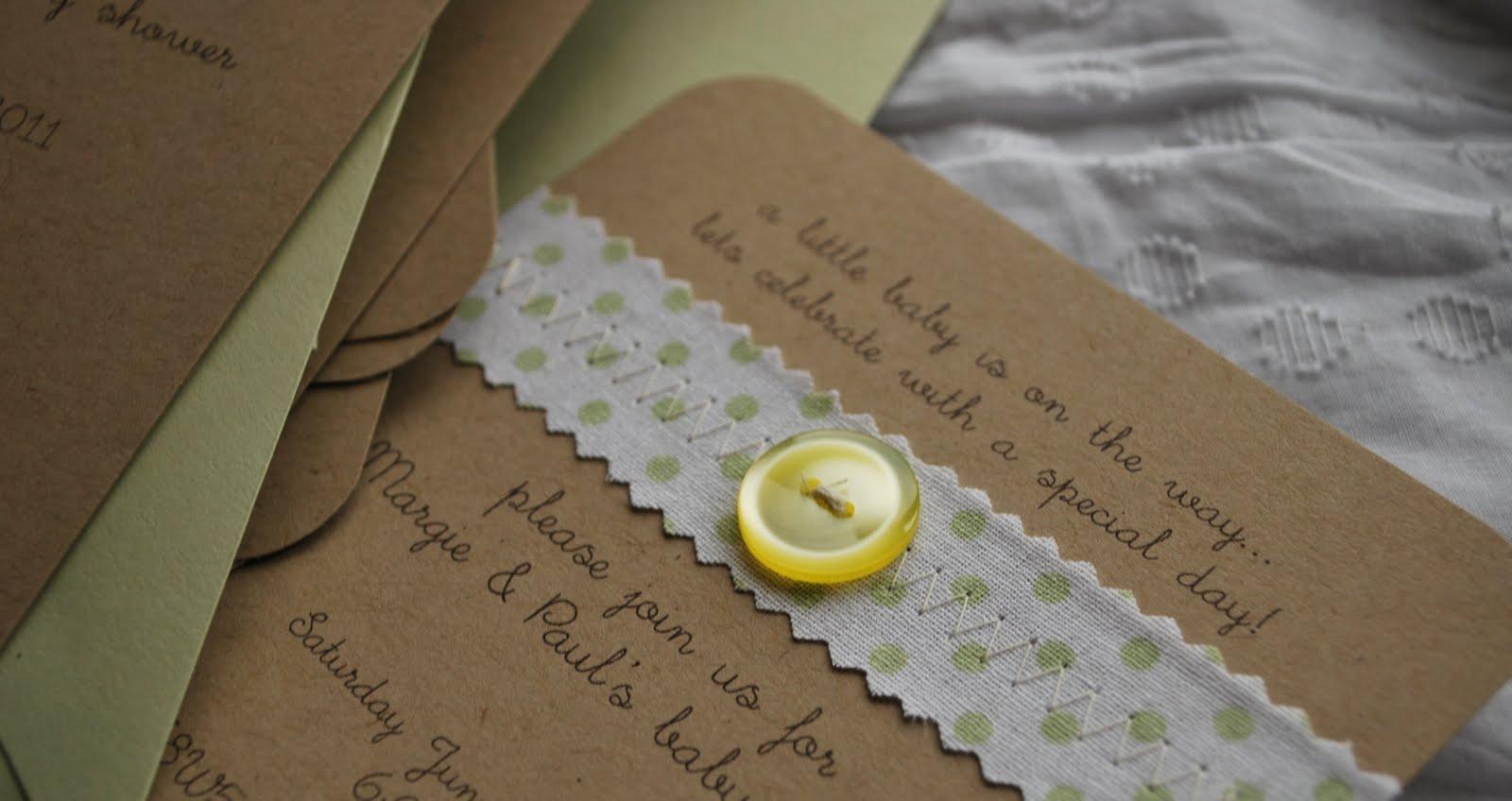 handmade baby shower invitations cute jpg