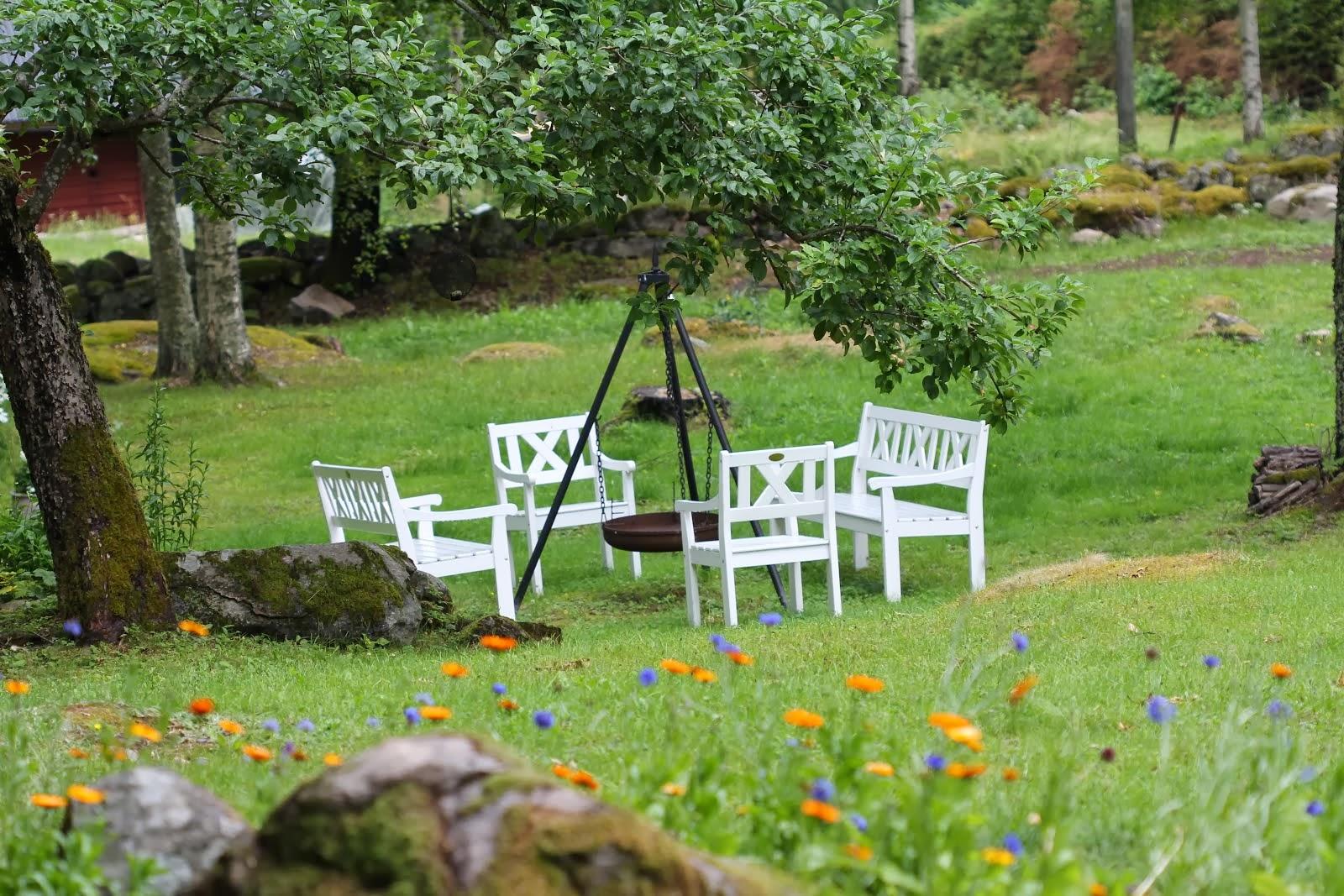 Nede i hagen