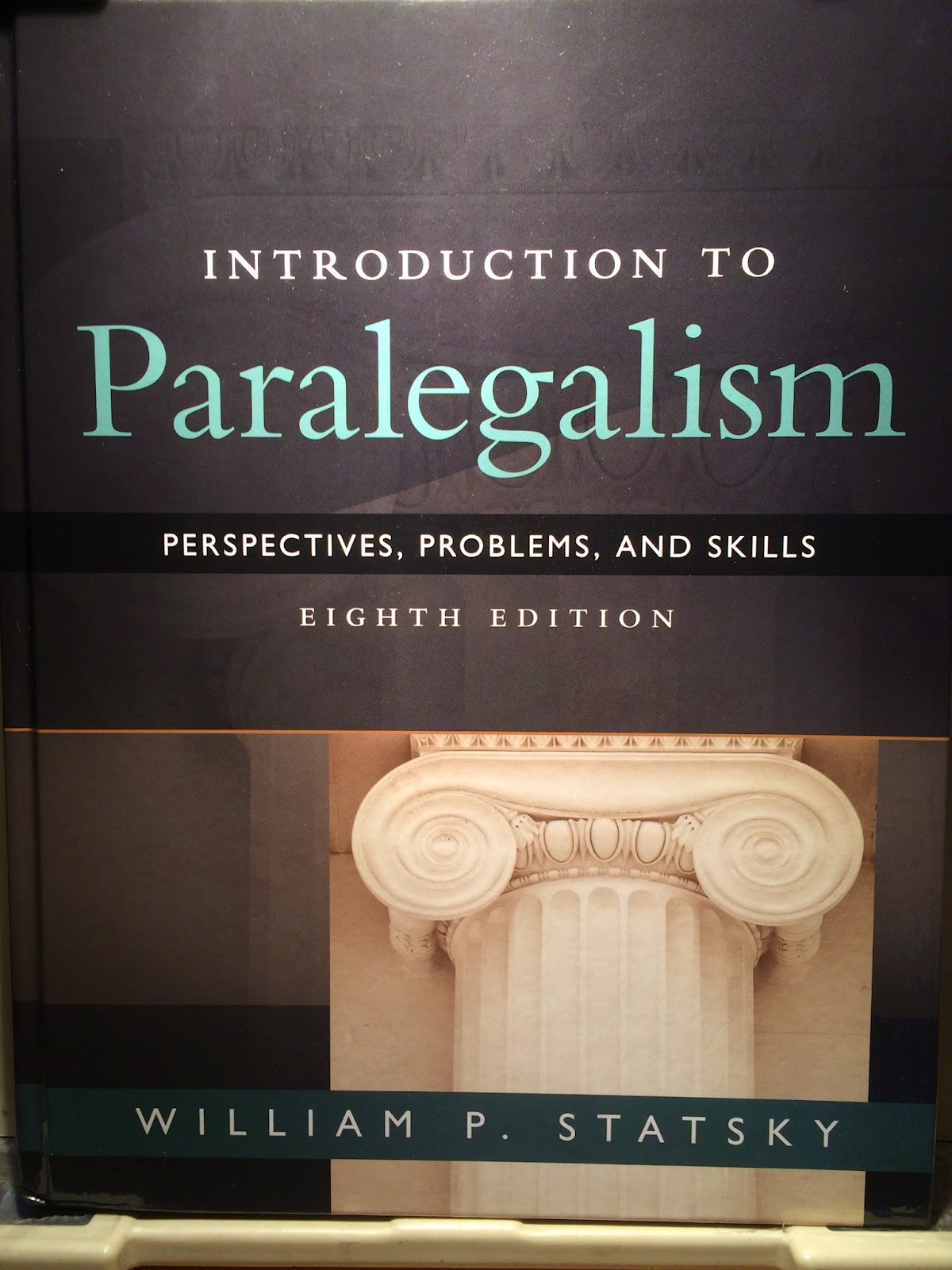 Paralegals books for and about paralegals written by or with bill introduction to paralegalism 8th edition 2015 fandeluxe Image collections