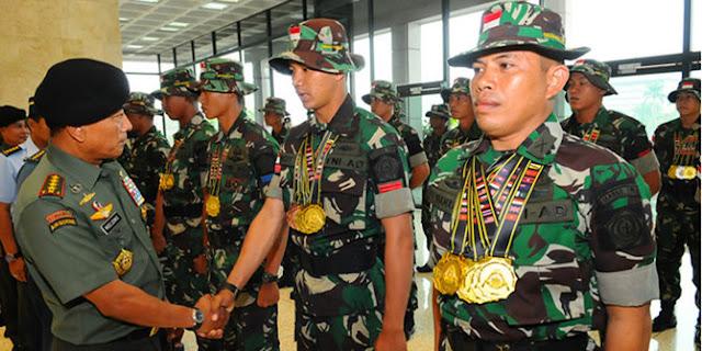 Juara menembak internasional, senjata TNI mau dibongkar