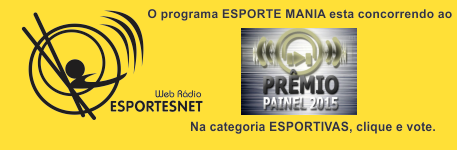 Vote no ESPORTE MANIA na categoria Esportivas