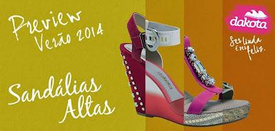 novos modelos coleção Dakota 2014