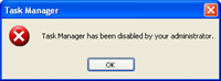 task manager diable by administrator