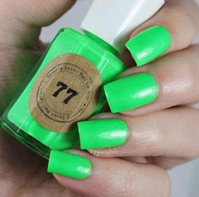 Seventy Seven Nail Lacquer In The Limelight by Bedlam Beauty