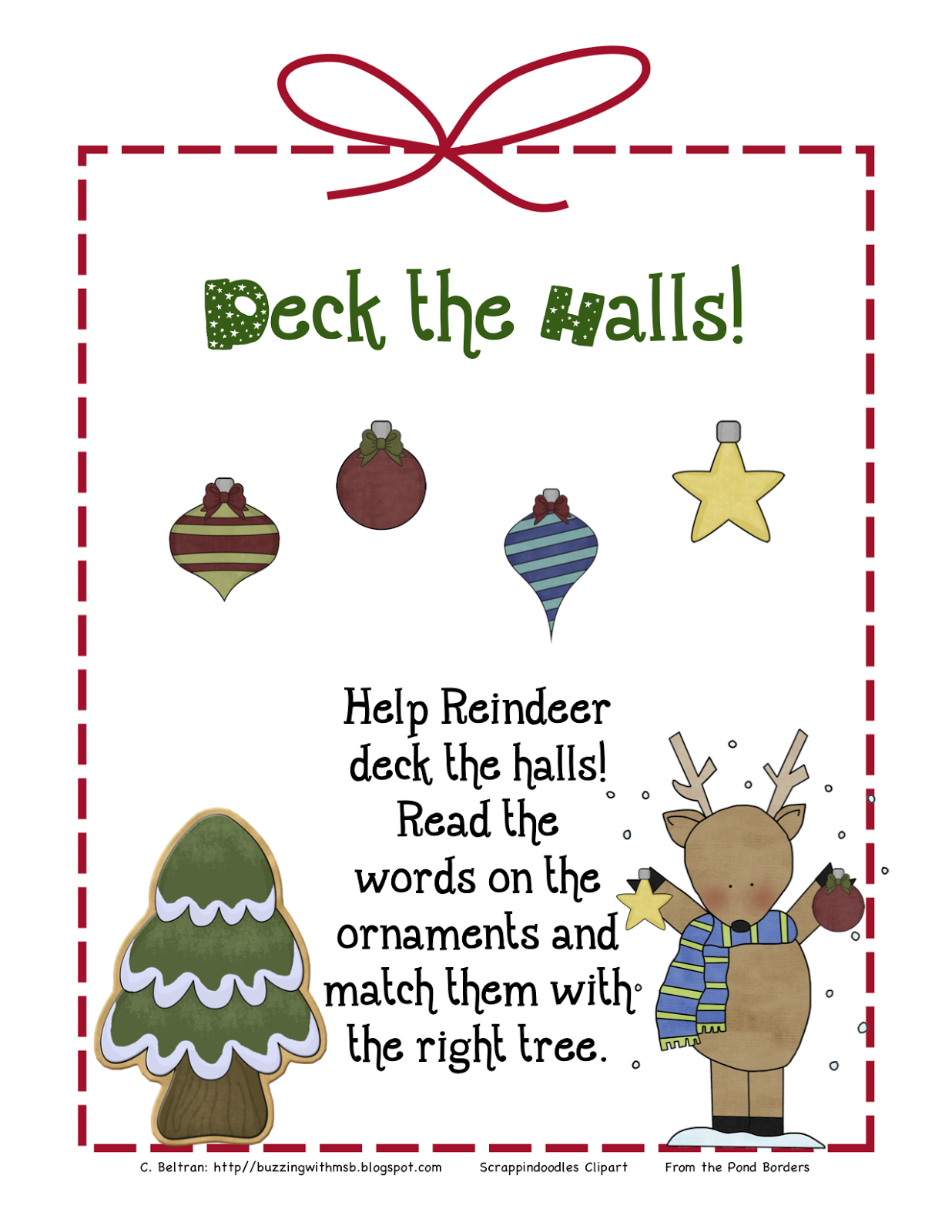 http://www.teacherspayteachers.com/Product/Deck-the-Halls-Long-Vowels-vs-Short-Vowels-Matching-Game-173999