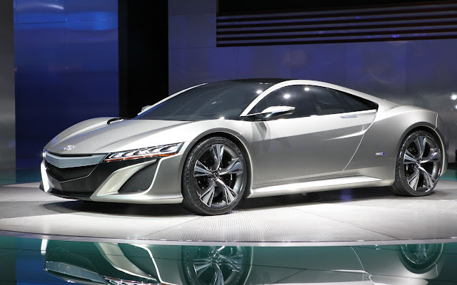New Acura Nsx Concept Mgm