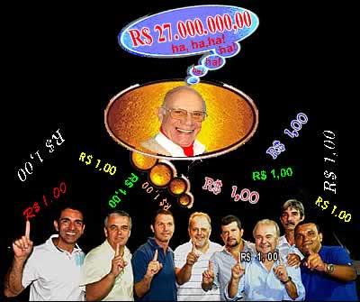 Alegria de Max Gollo: 27 milhões garantidos!