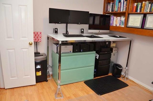 Standing Desk Ikea Hack