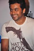 Surya Latest Photos Stills In 7m Arivu Team Press Meet,Actor Surya New .