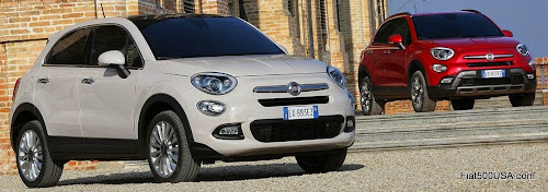 Fiat 500X Lounge and Cross