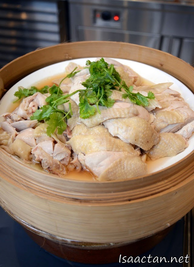 Steamed White Chicken