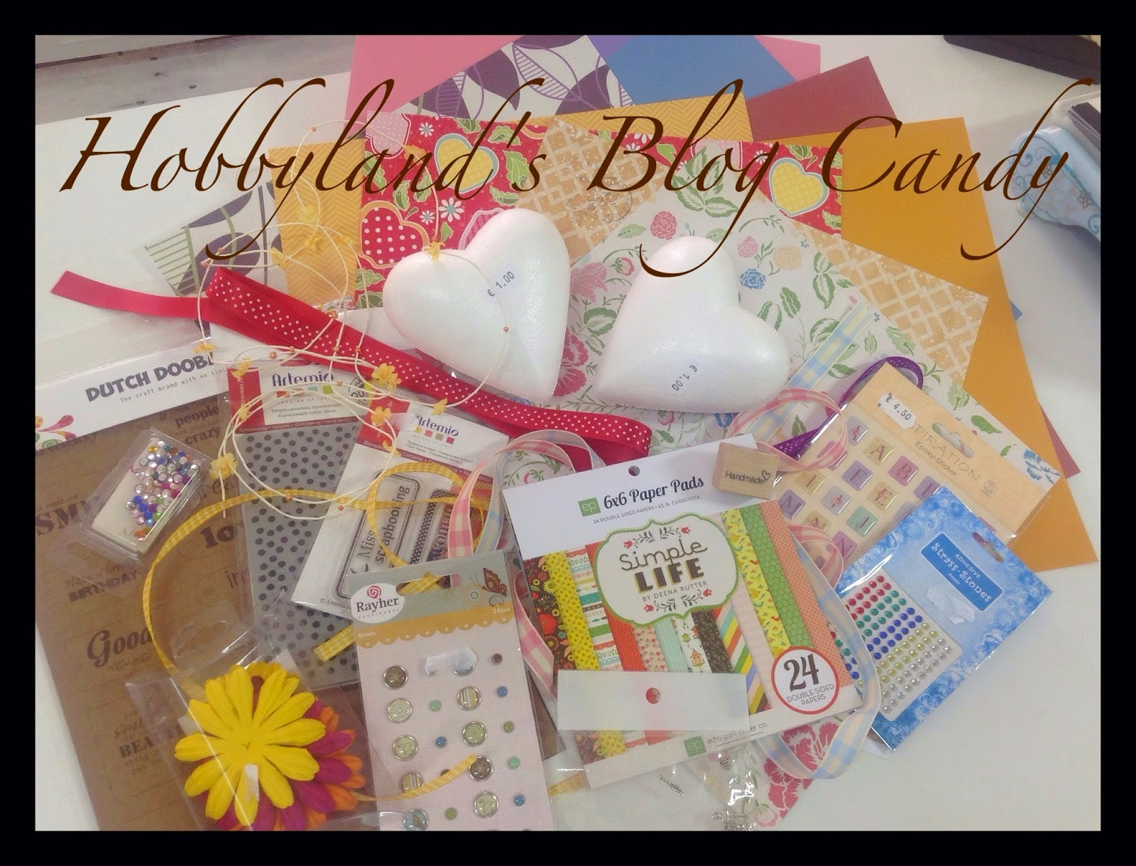 il Blog Candy di Hobbyland!
