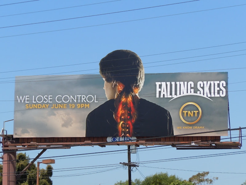 Falling Skies We Lose Control billboard