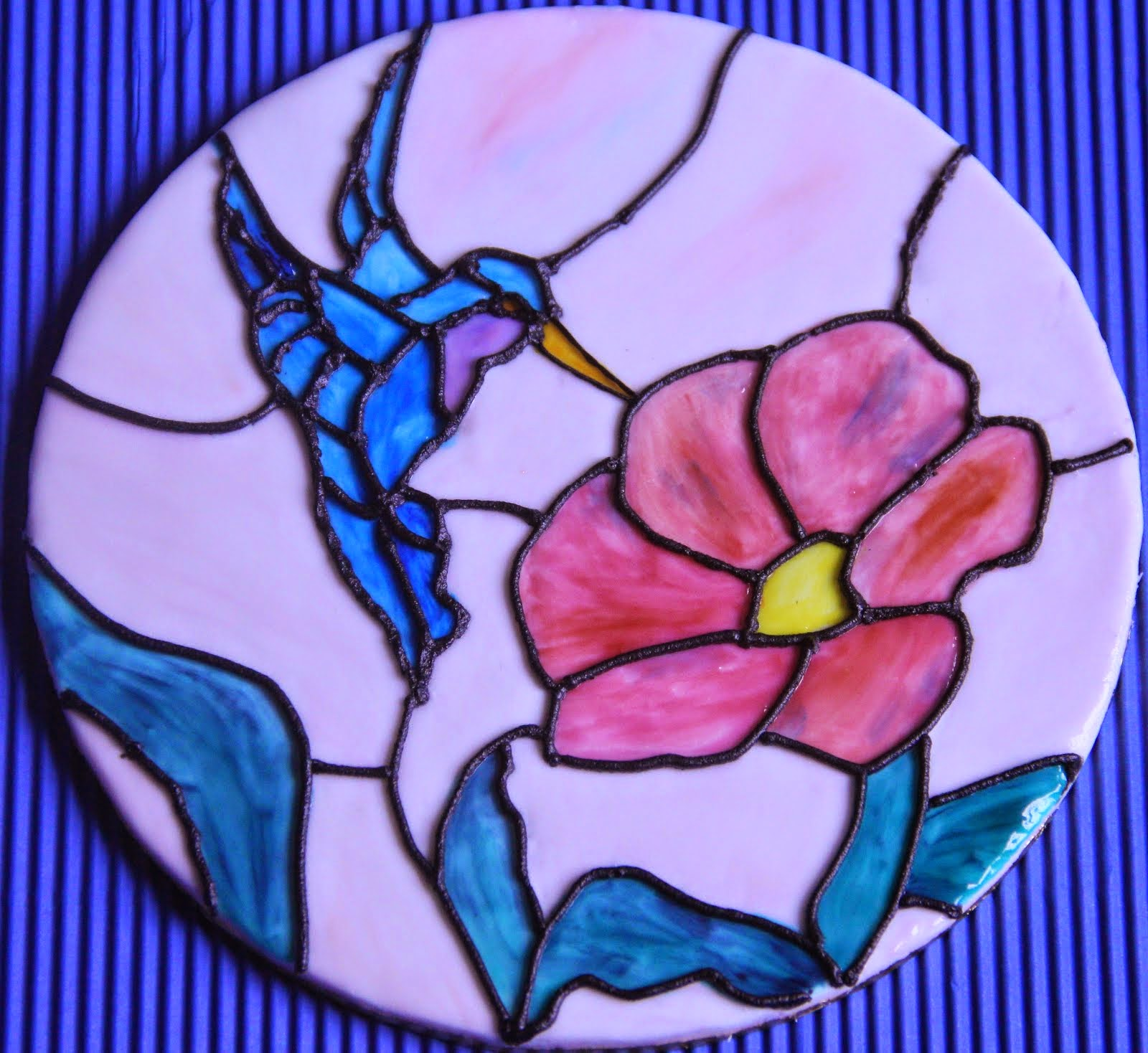 Stained Glass Plaque Making Class