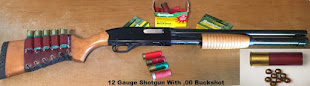 Best Home Defense in Sarasota Fl Is 12 Gauge Shotgun With .00 Buckshot
