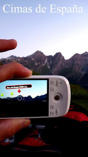 """Blog Safari Club, aplicación Android """"cimas de España"""""""