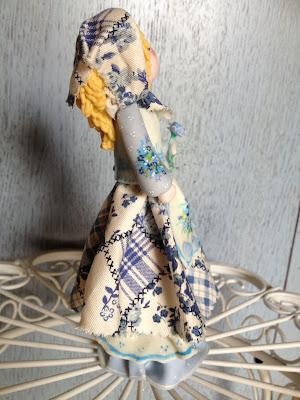 bambole di mais stile country
