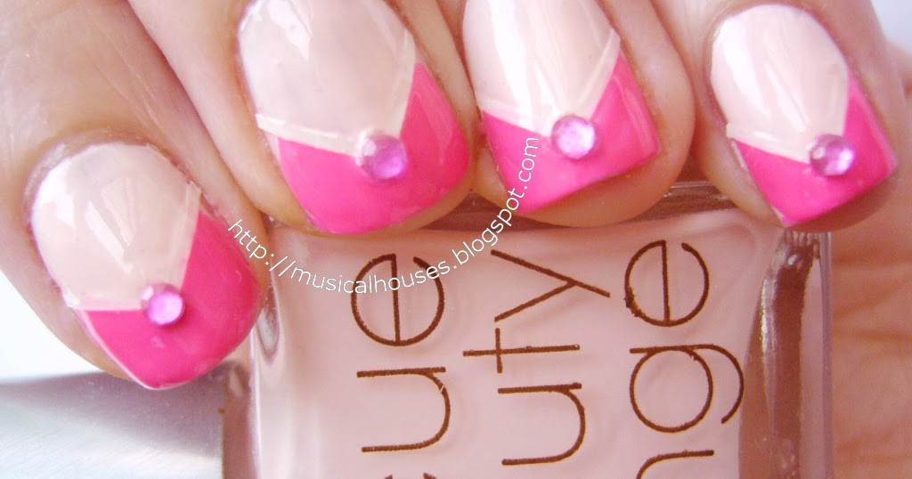 Spring/Summer Pink Nail Art: Neon and Neutrals ...