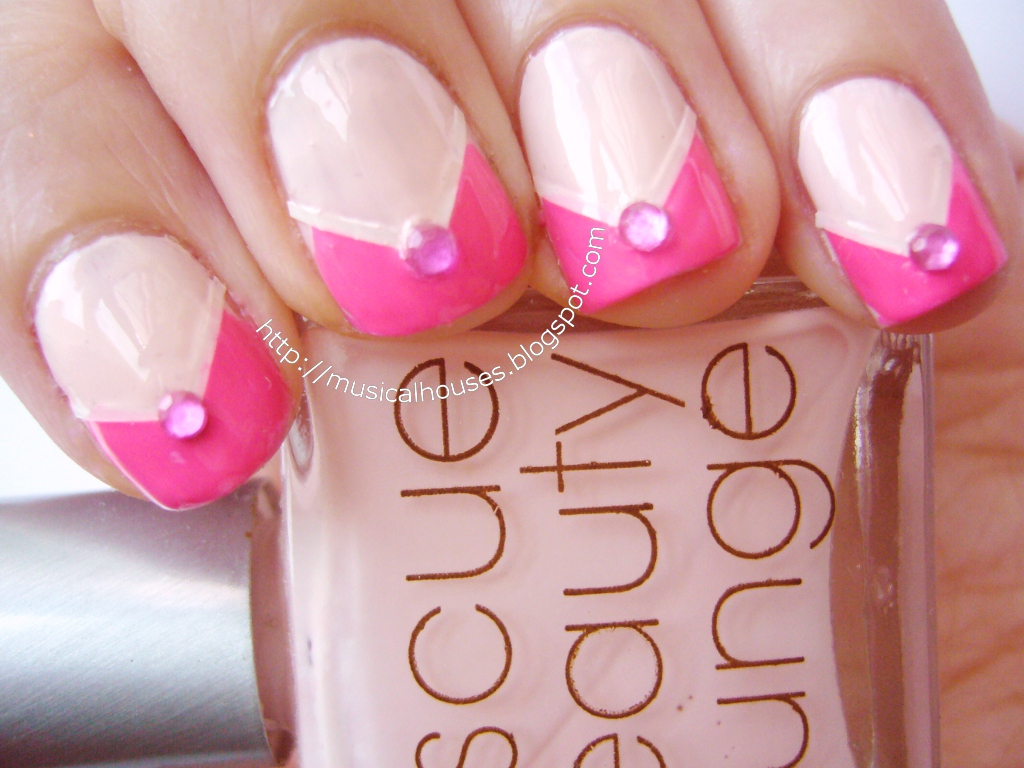 Spring/Summer Pink Nail Art: Neon and Neutrals Colourblocking! - of ...