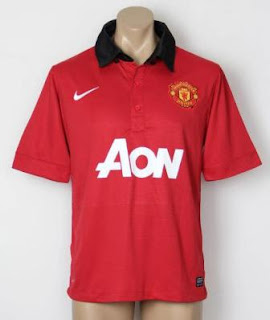 Leaked Jersey GO Manchester United Home 13/14
