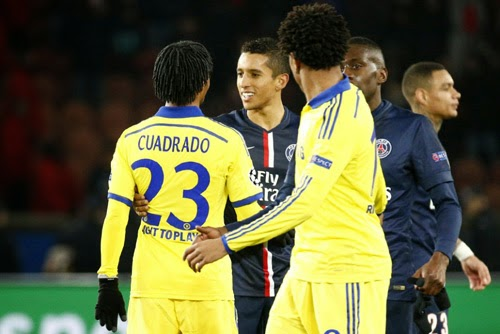 Paris Saint Germain vs. Chelsea 1-1 Highlight Goal UEFA Champions League 17-02-2015