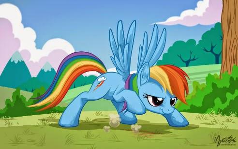 Overused pose is overused Rainbow Dash