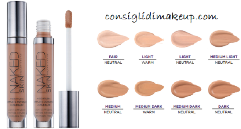 correttore naked skin urban decay
