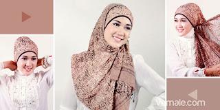 Cara Pakai Jilbab Pashmina Simple Untuk Wanita Karir