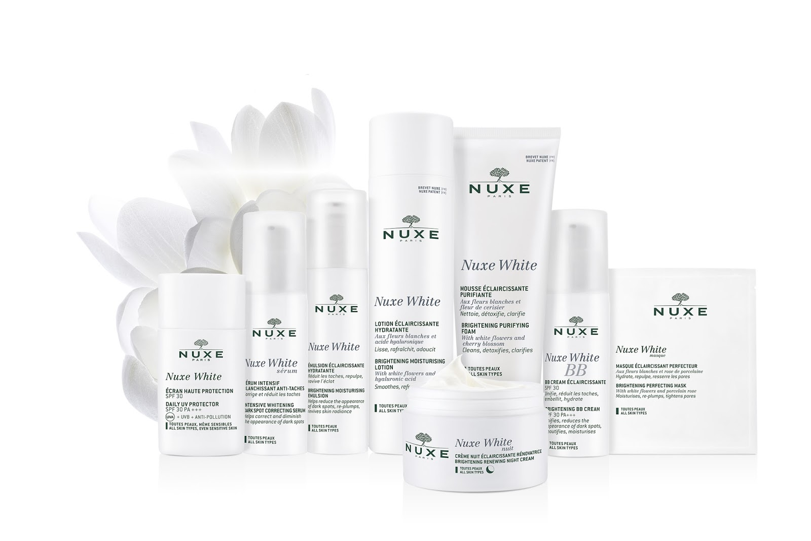 The Swanple Event Nuxe White Bloggers Tea Party Oilum Brightening Care Body Butter Range Of Products