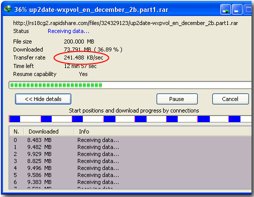 how to download anonymously with idm