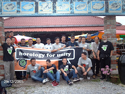peserta 'horology for unity'