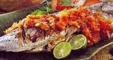 Resep praktis (mudah) ikan bakar manokwari spesial (istimewa) enak, lezat
