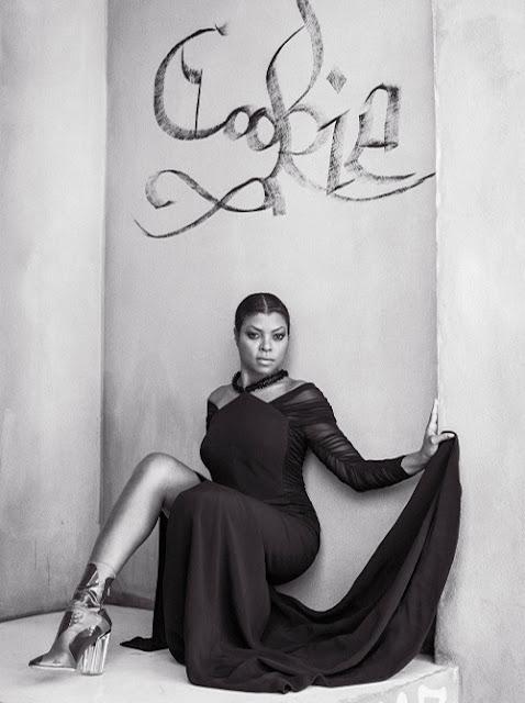 Taraji P. Henson For CR Fashion Book; Styles In Balenciaga
