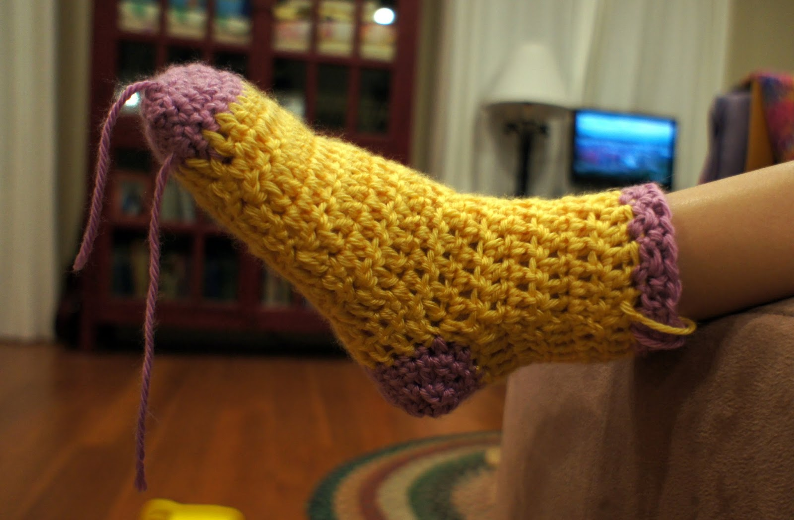Ball hank n skein knee high boot socks just weave in your ends bankloansurffo Choice Image
