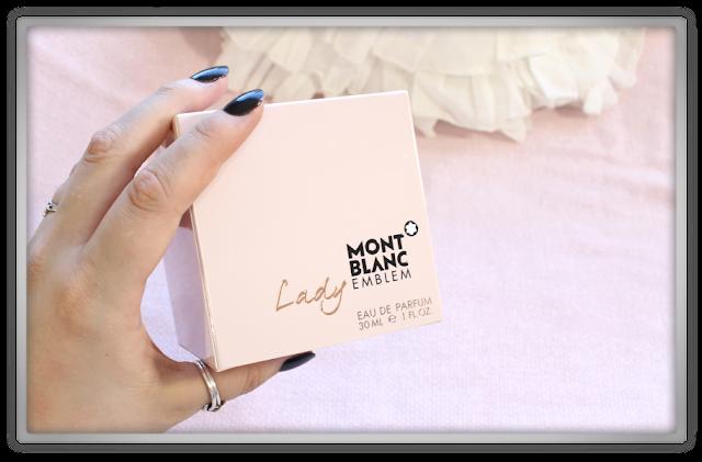 Mont Blanc Emblem Lady Eau de Parfum haul review first signature scent christmas gift idea beauty blogger blog perfume birthday