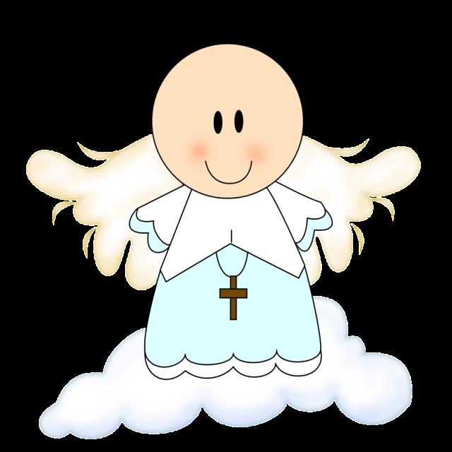 Ángelitos bebés para bautizos de niña - Imagui
